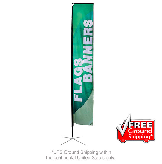 Mamba Large Flag Single Sided